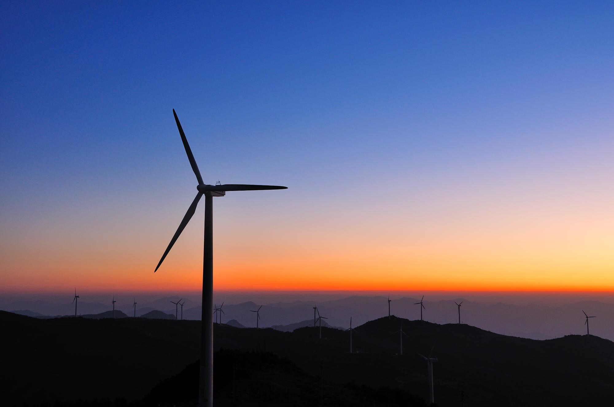 智慧风电场开启风电能源互联网化