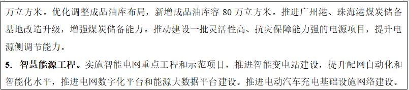 """广东省""""十四五""""规划出炉 新能源产业相关划重点"""