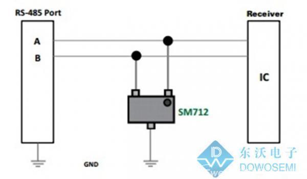 瞬态抑制二极管的典型应用,图文详解