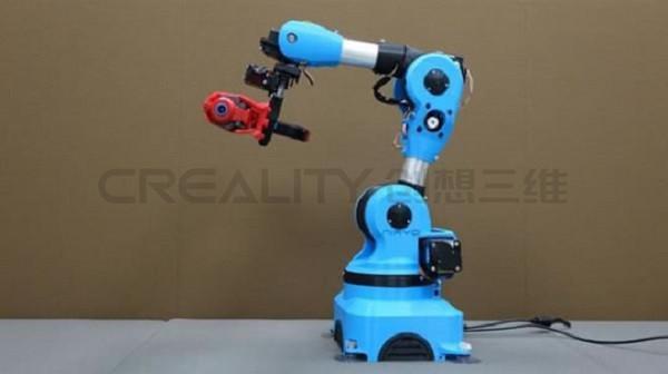 创想三维:3D打印机器人手臂的应用潜力