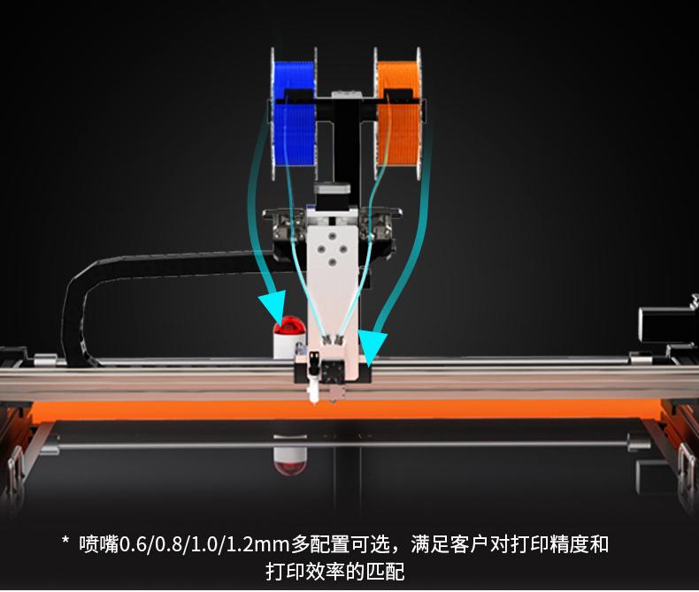 K8发光字3D打印机与普通3D打印机的区别