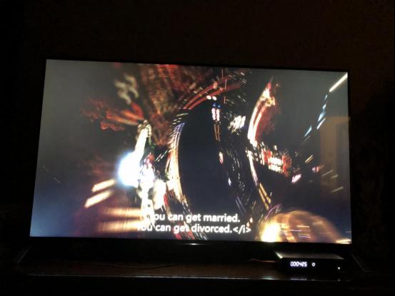 PS4PRO游戏《战神》测试 开博尔光纤HDMI线