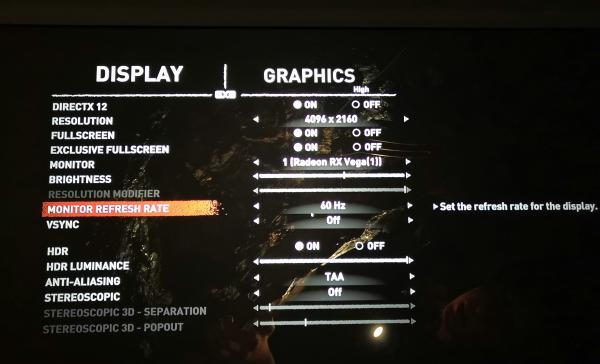 4K电影及游戏测试 开博尔DP线表现可见一斑