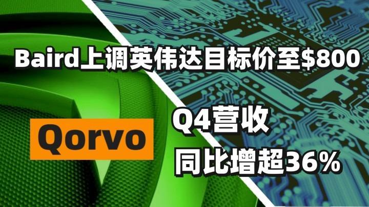 芯片大事件 | Qorvo Q4营收同比增超36%