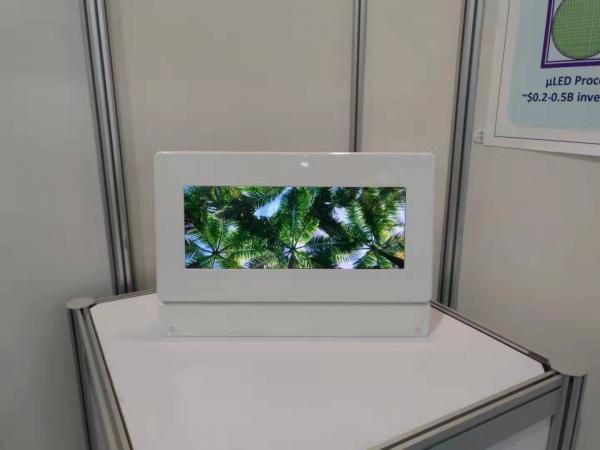又一企业展出12.1寸Micro LED,这次主角是鸿海、群创…