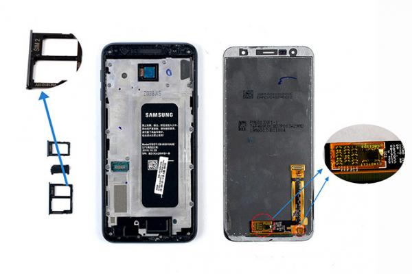E拆解:三星中端机Galaxy J4+拆解