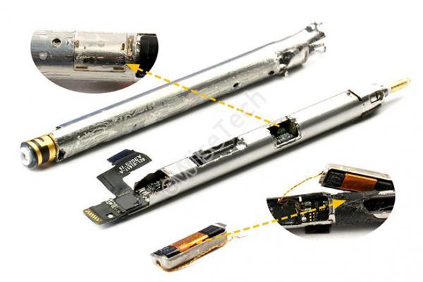 E拆解:无线充电的Apple Pencil是怎样制成的?