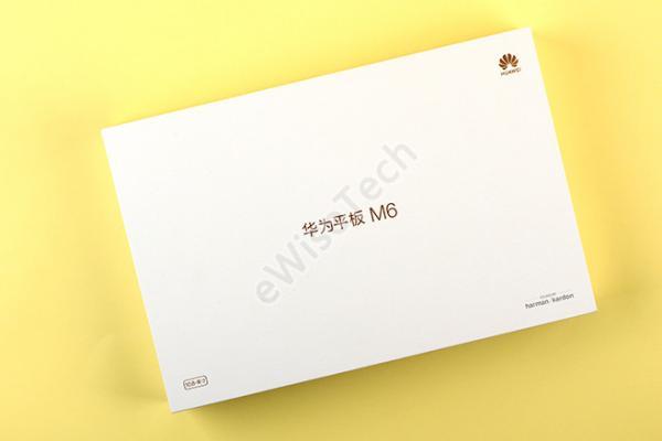 E开箱:华为平板电脑M6——10.8英寸版