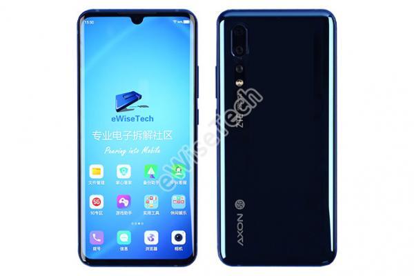 E拆解:首款国内5G——中兴天机 AXON 10 Pro