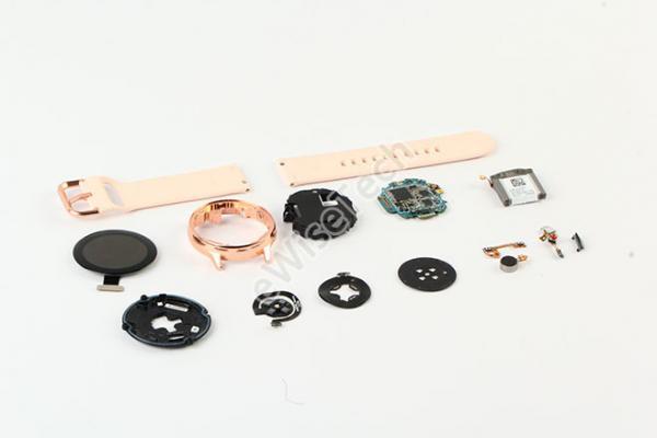 采用内支撑模块的 Galaxy Watch Active内部到底如何?