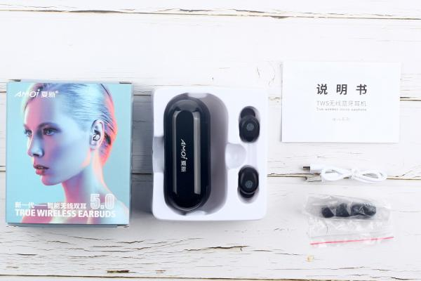 E开箱:夏新,索尼的TWS耳机来袭,耳机也有这么大体格的?