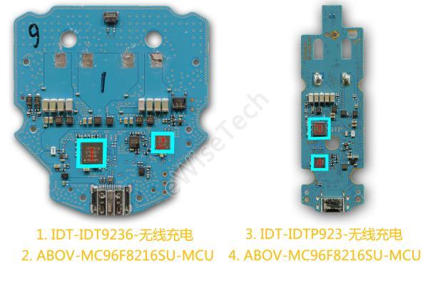E分析:拆两个无线充电器来看看,无线充电器里都有哪些器件?