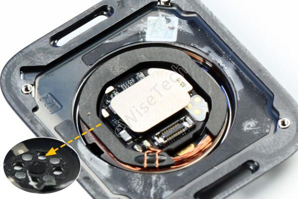 Apple Watch S6新增了传感器,那结构在哪做了改变?