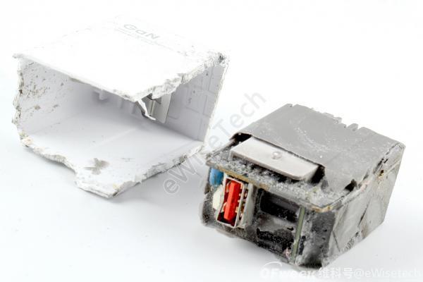 E拆解:氮化镓芯片?来看看小米55W适配器的内部吧