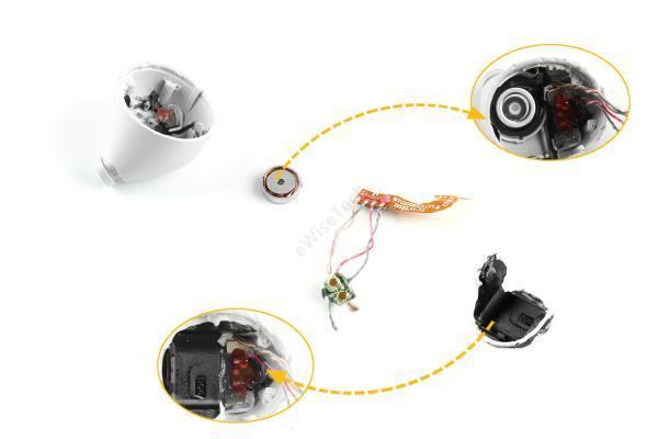 realme Buds Air2 Neo 拆解:采用络达蓝牙主控芯片