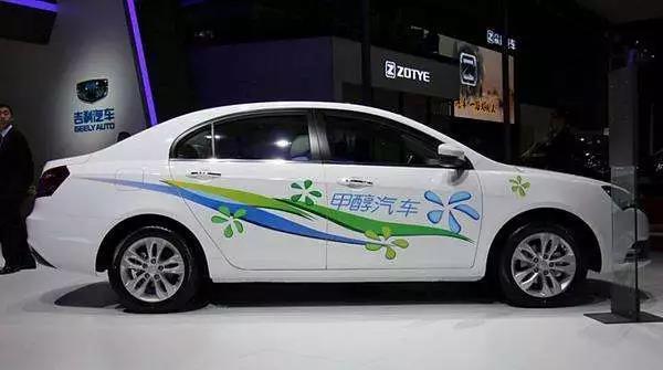 """甲醇汽车迎来发展 """"顶层设计""""   吉利""""决定""""行业标准"""