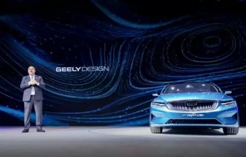 全新概念车-吉利PREFACE上海车展全球首发亮相