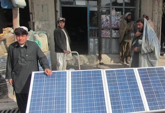 阿富汗将依靠太阳能+储能让2000万无电人口用上电