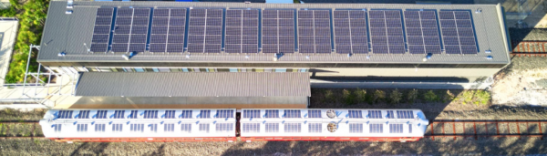世界上第一列太阳能火车来了!可用锂离子电池充电
