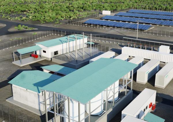 混合动力太阳能+储能助力小岛100%可再生能源发电