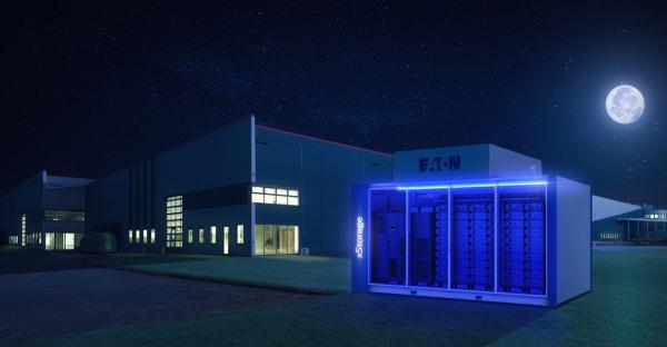 Eaton和Enico联合推出了2 MWh的建筑物储能系统 减少占用建筑内部空间