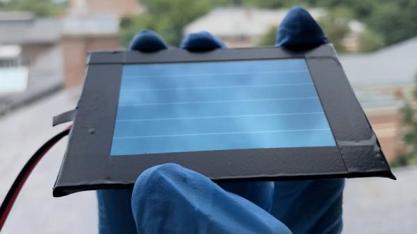 """钙钛矿太阳能电池""""反掺杂""""技术   效率可达17.8%的微型储能模块"""