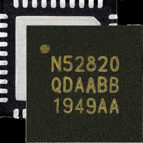 Nordic nRF52820 SoC为nRF52系列低端器件增添全速USB 2.0和蓝牙 5.2、低功耗蓝牙、蓝牙 Mesh、Thread和Zigbee支持
