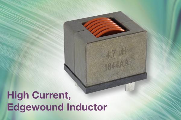 Vishay推出的新款IHDM边绕电感器具有出色的电感及饱和稳定性