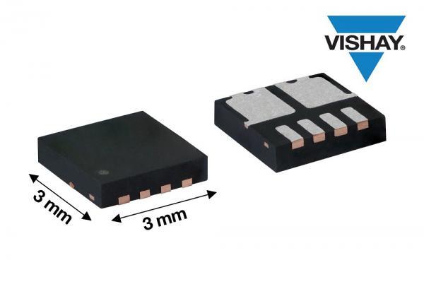 Vishay推出新款共漏极双N沟道60 V MOSFET,提高功率密度和效率