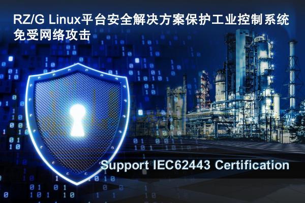瑞萨电子基于RZ/G Linux平台的安全解决方案将于2019年底上市 保护工业控制系统免受网络攻击