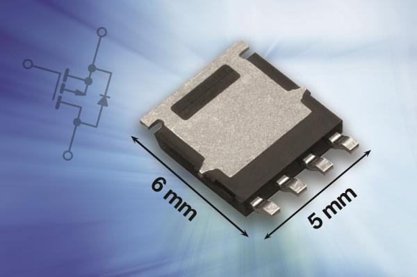 Vishay推出新款AEC-Q101认证的30 V和40 V P沟道MOSFET,有效提高板级可靠性