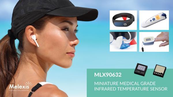 Melexis 宣布推出业界最小的医疗级 FIR 传感器