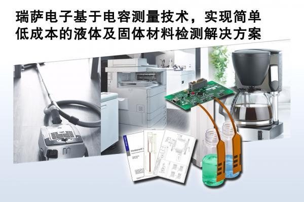 瑞萨电子针对工业、办公室自动化和家电应用推出简单、低成本的液体及固体材料检测解决方案