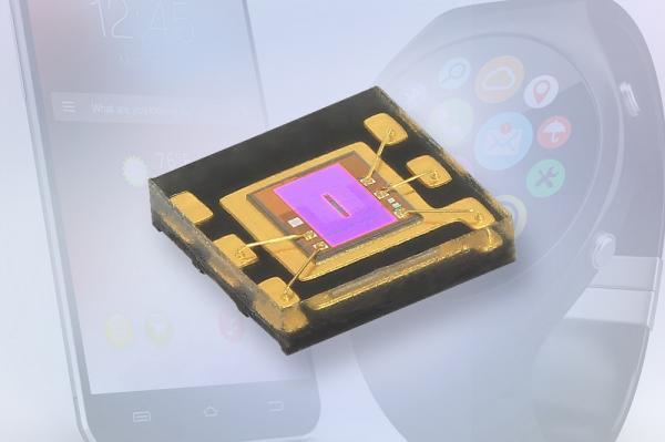 Vishay推出专门针对可穿戴设备和智能手机应用进行优化的新型高灵敏度环境光传感器