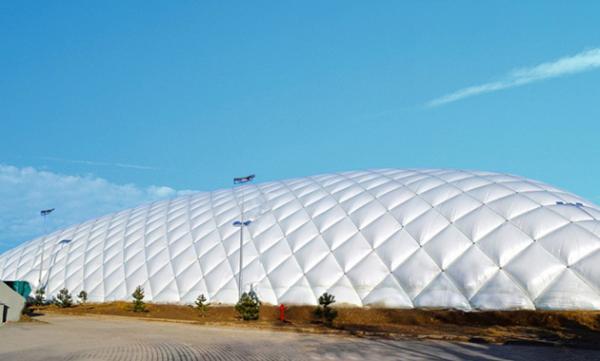 气膜煤棚――杜绝粉尘保护环境的建筑