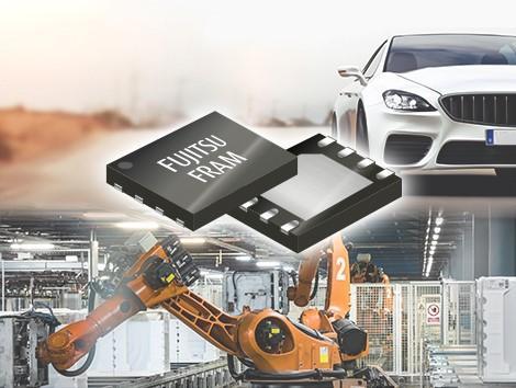 富士通电子推出可在125℃高温下稳定运行的最新4Mbit FRAM