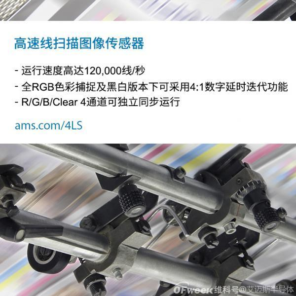 艾迈斯半导体推出的全新系列线扫描图像传感器,能够在光学检测系统中实现更高的吞吐量