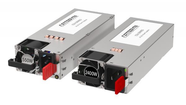 雅特生科技推出全新的CRPS服务器电源系列 -- 其中包括可提供2.4kW业界最高输出功率的型号