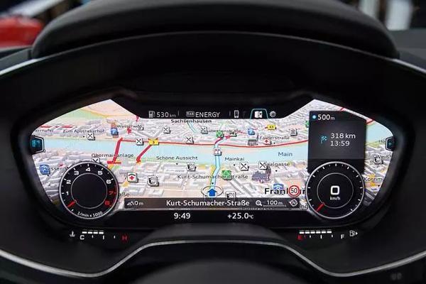 史上最酷10款汽车仪表盘,当然少不了全液晶仪表