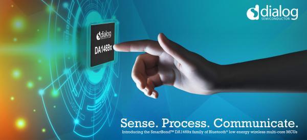 Dialog半导体公司最新蓝牙低功耗无线多核MCU系列,为明天的用户设立标准
