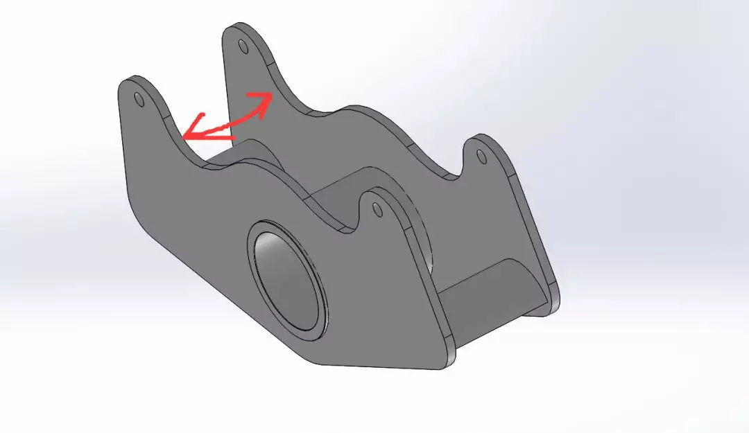 焊件要求尺寸内宽解决方案