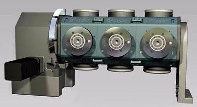 多重夹持理念:多达16个模块、还可单独控制