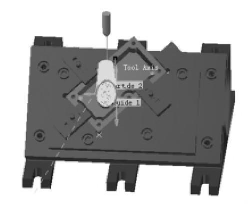用CATIA一次性完成夹具的设计、检验、模拟加工