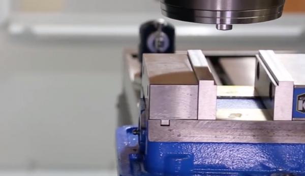 虎钳也可以搞定异形件加工