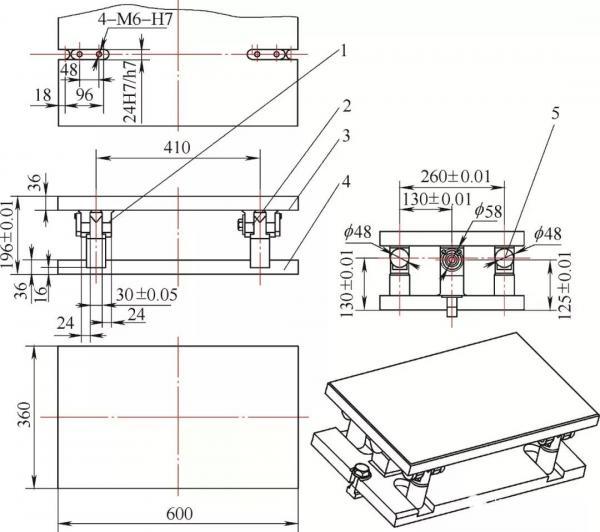 给龙门铣床加一轴的思路——自制翻转夹具