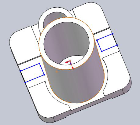 针对生产时的形变、快换要求重新设计的夹具