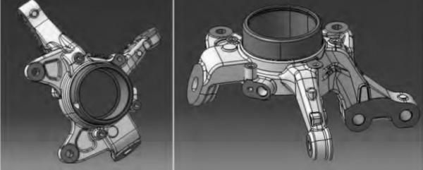 高效转向节加工,来看多主轴工艺集中方案工艺