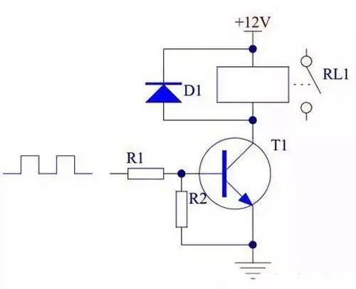 继电器工作原理及驱动电路