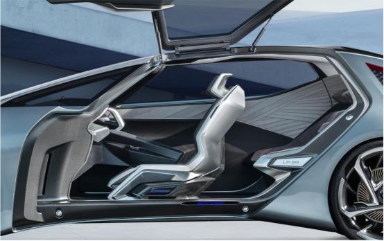 雷克萨斯纯电动概念车LF-30首秀,不止科幻,更懂人性