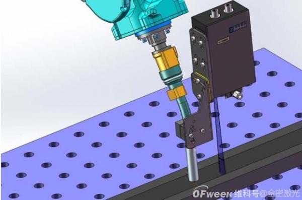 激光焊接机如何实现焊缝跟踪定位?